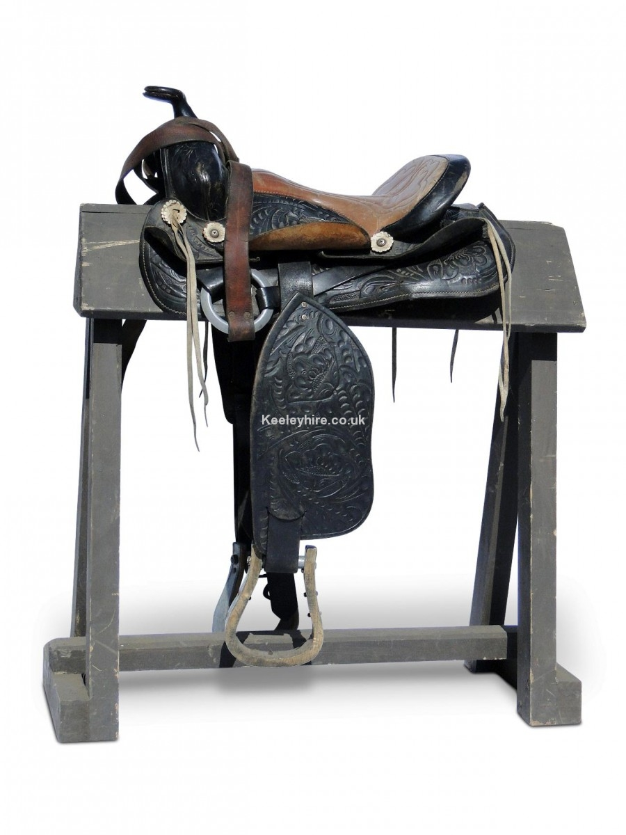 Wood Saddle Stand