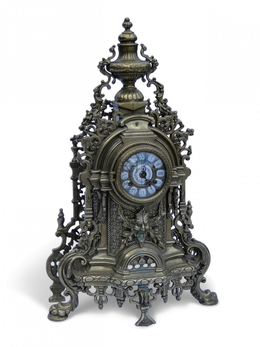 Ornate Brass Clock
