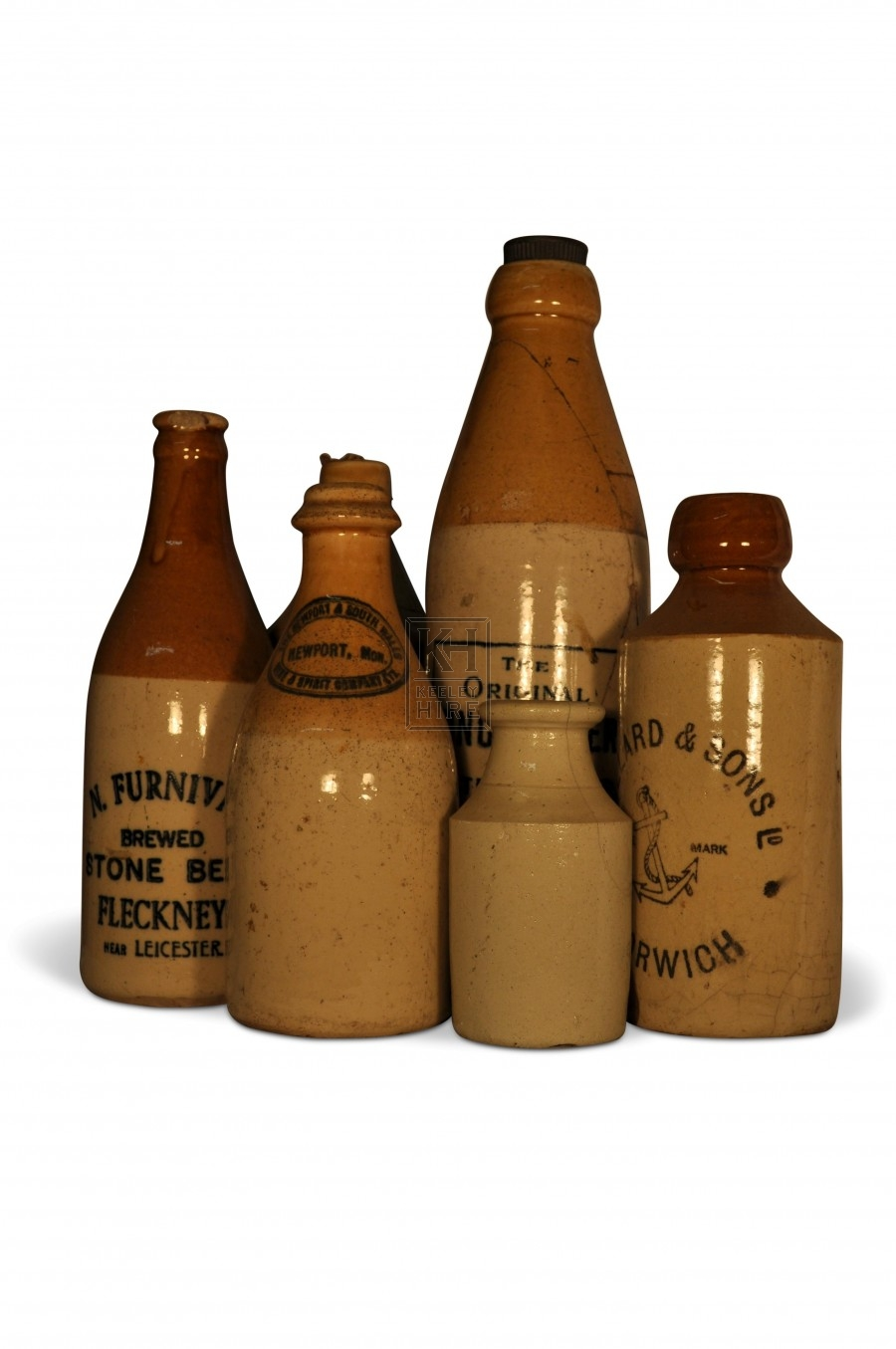 Earthenware bottles