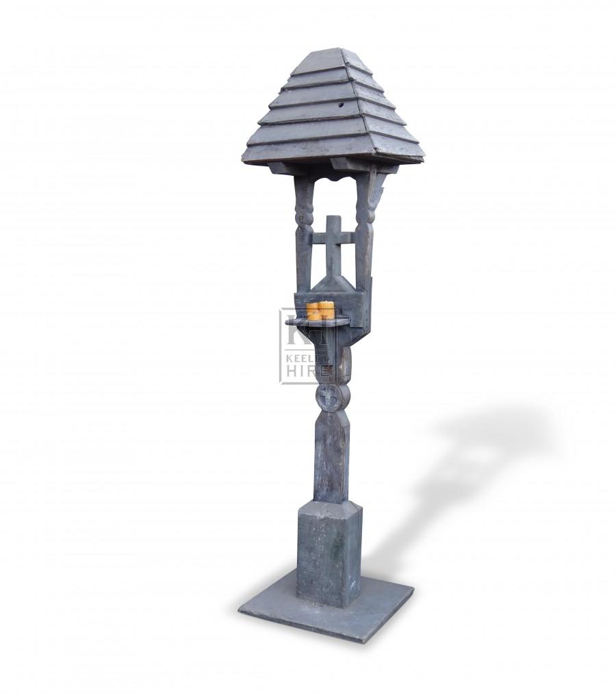 Freestanding Wooden Shrine
