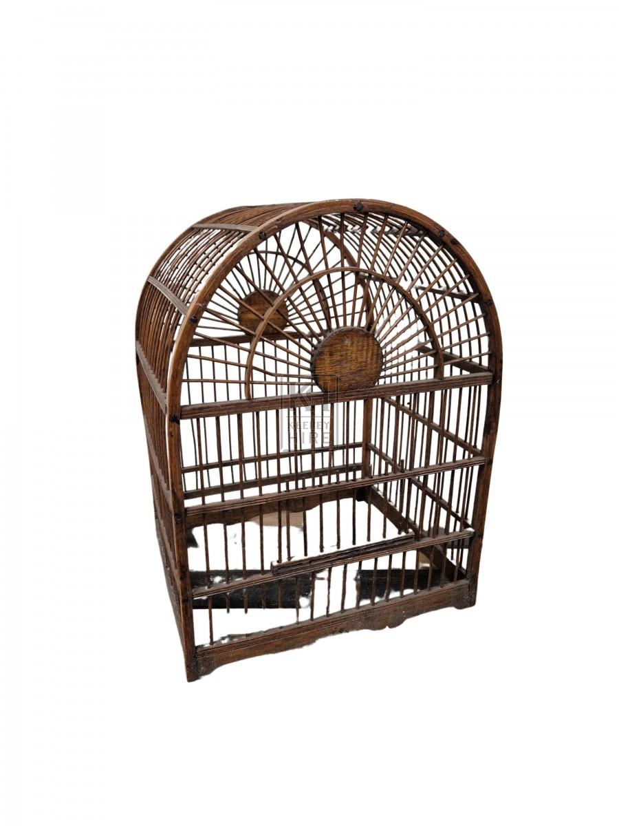 Dome Wicker Cage