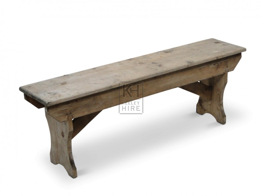 Light Wood Benches