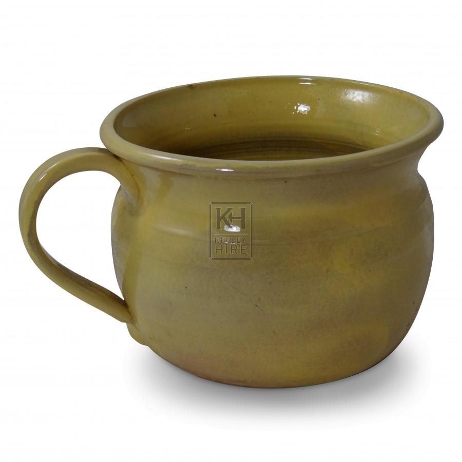 Pottery Chamber Pot
