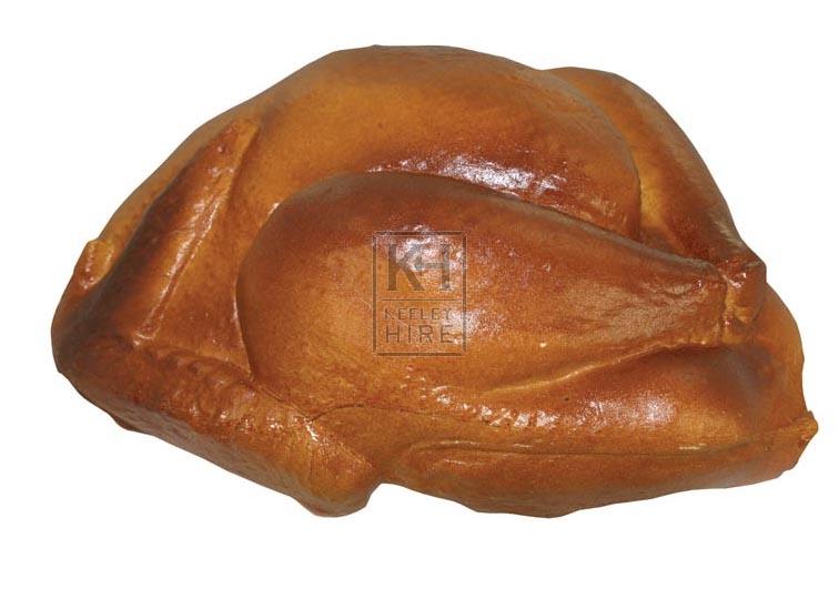 Plastic roast turkey