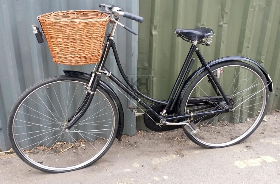 Period Ladies Bicycle with pannier frame
