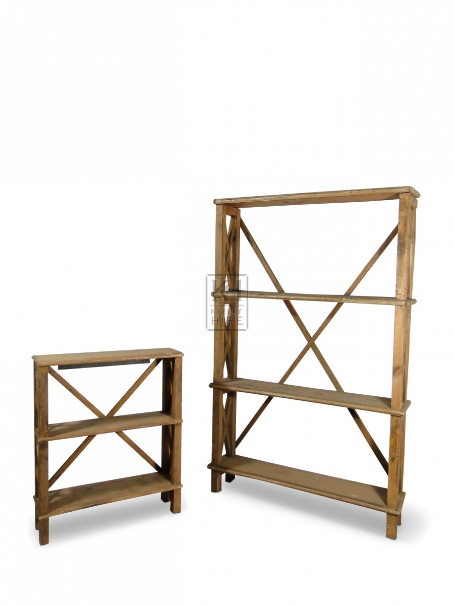 X-Frame Shelf Units