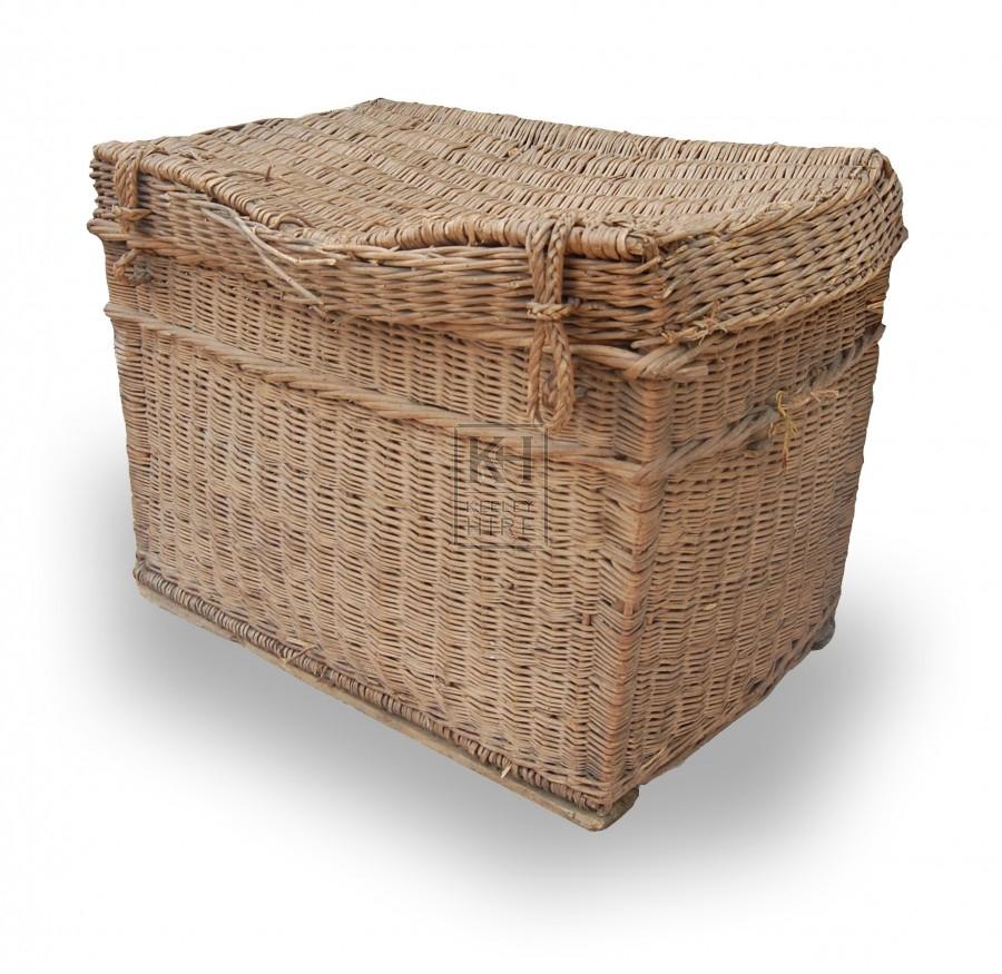 Rectangle wicker baskets