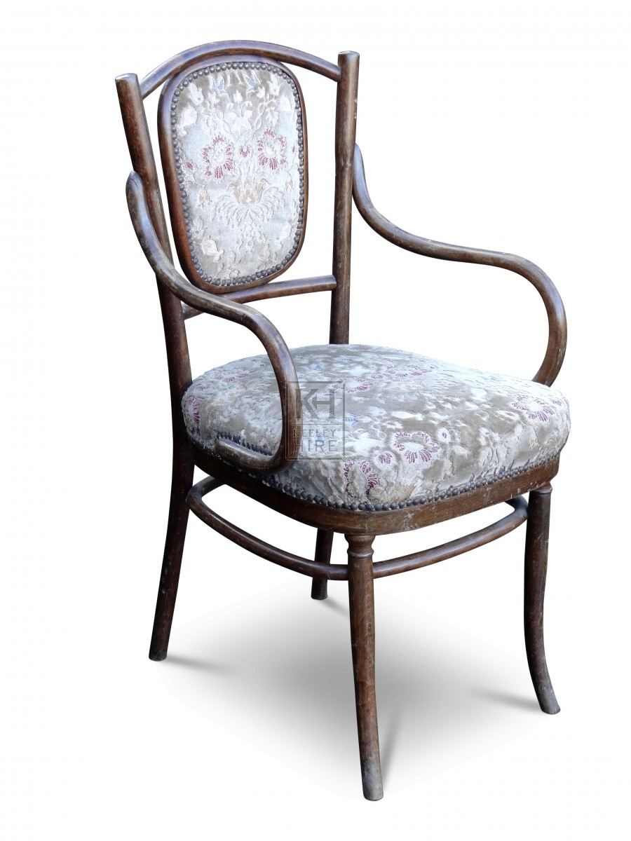 Upholstered Wood Chair
