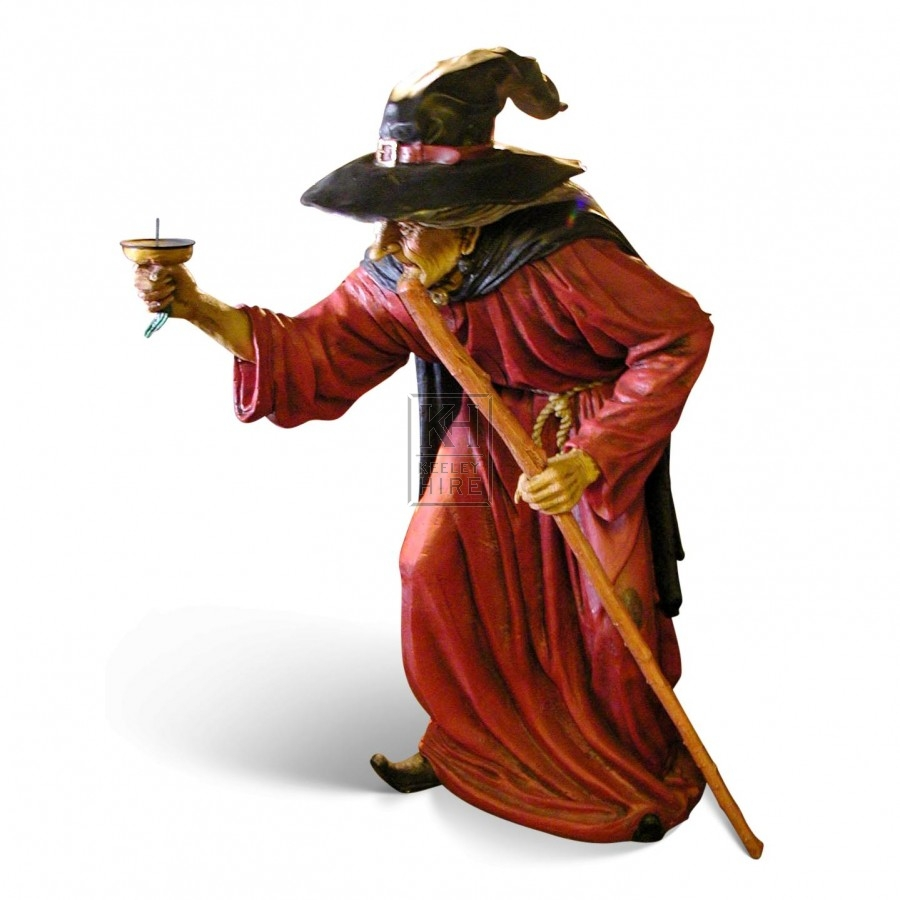 Large Witch statue