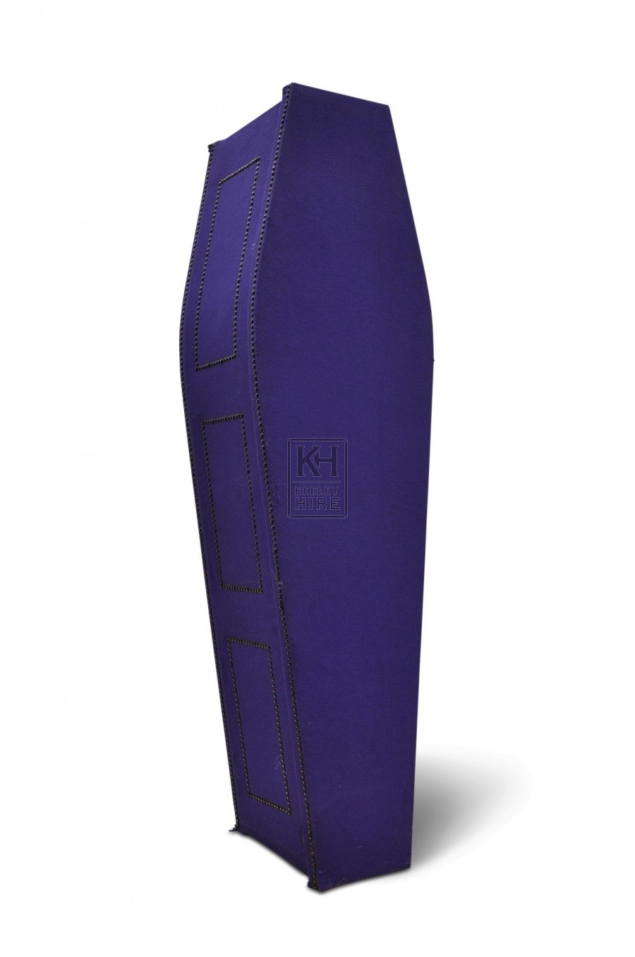 Coffin - Purple Felt
