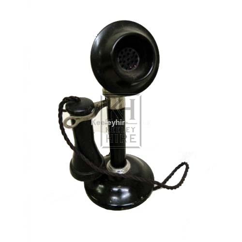 Black Candlestick Telephone