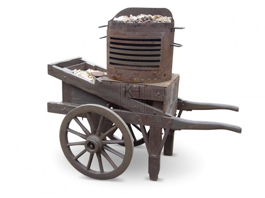 Chestnut Sellers Cart