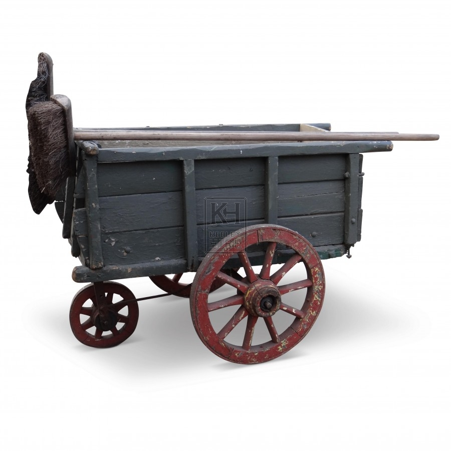 Period Road Sweepers Cart