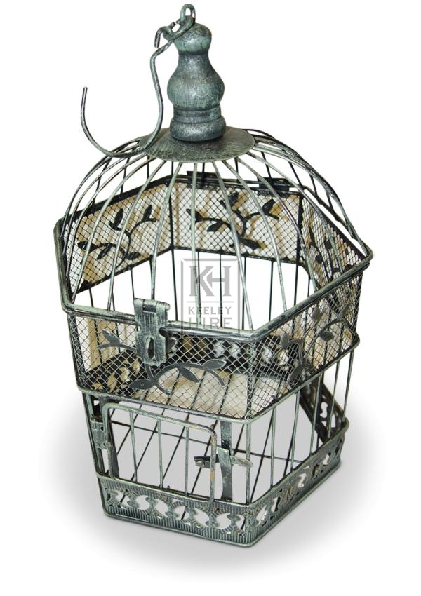 Octagonal Dome Bird Cage