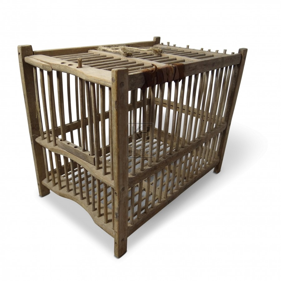 Medium Wooden Cage
