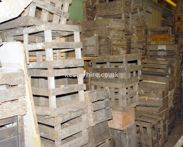 Assorted Wooden Crates
