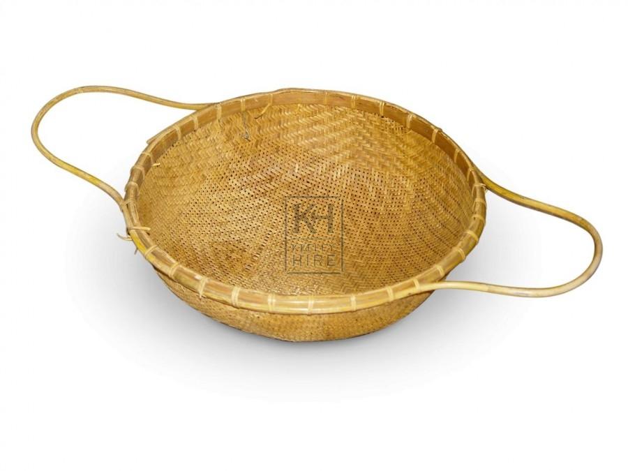 Woven Bowl Baskets