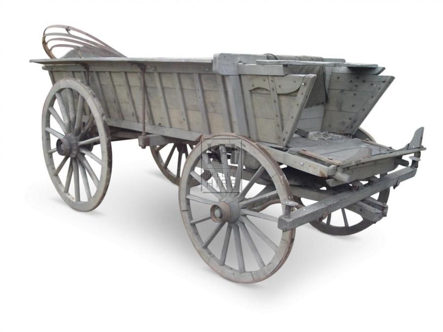 Large 4-Wheel Cart #1
