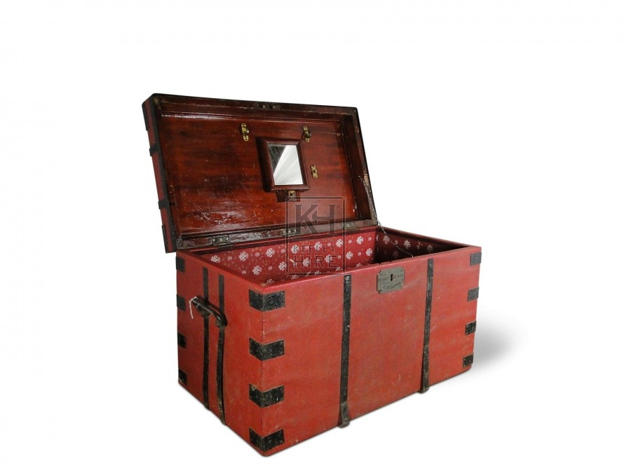 Large Red Chest