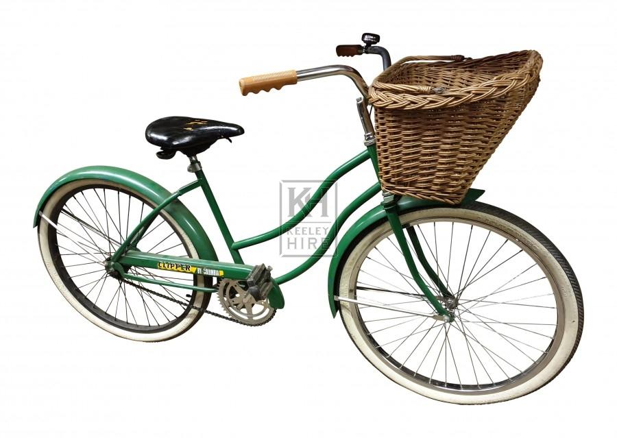 Green American Ladies Bicycle