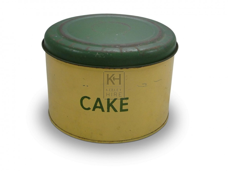 Cake Storage Tin