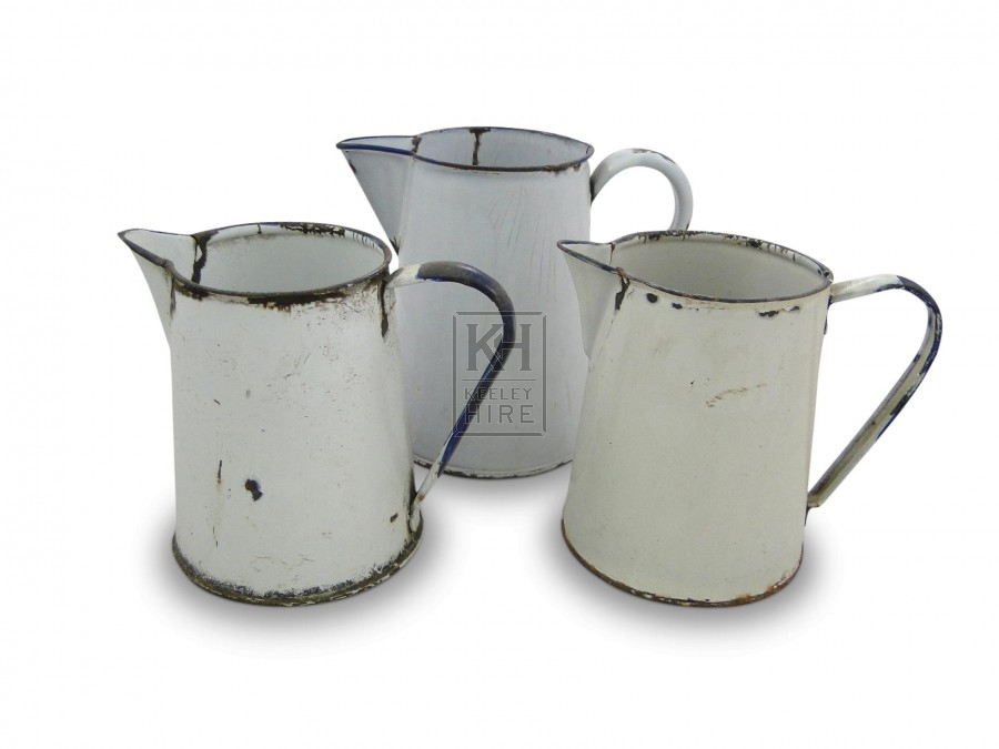 Medium Enamel Jugs