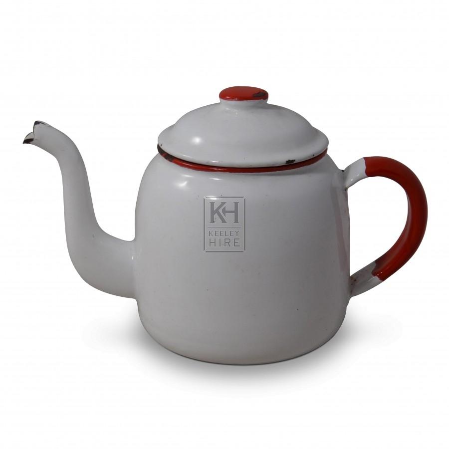 Enamel Teapots