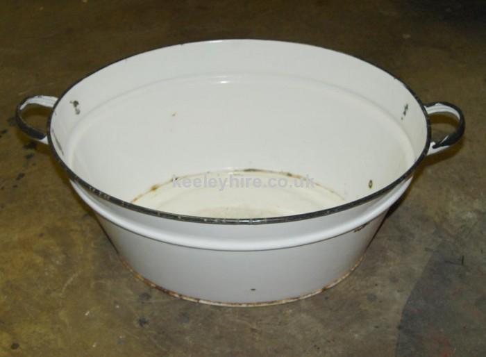 Enamel Tub White