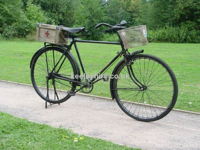 Indian period red cross bicycle