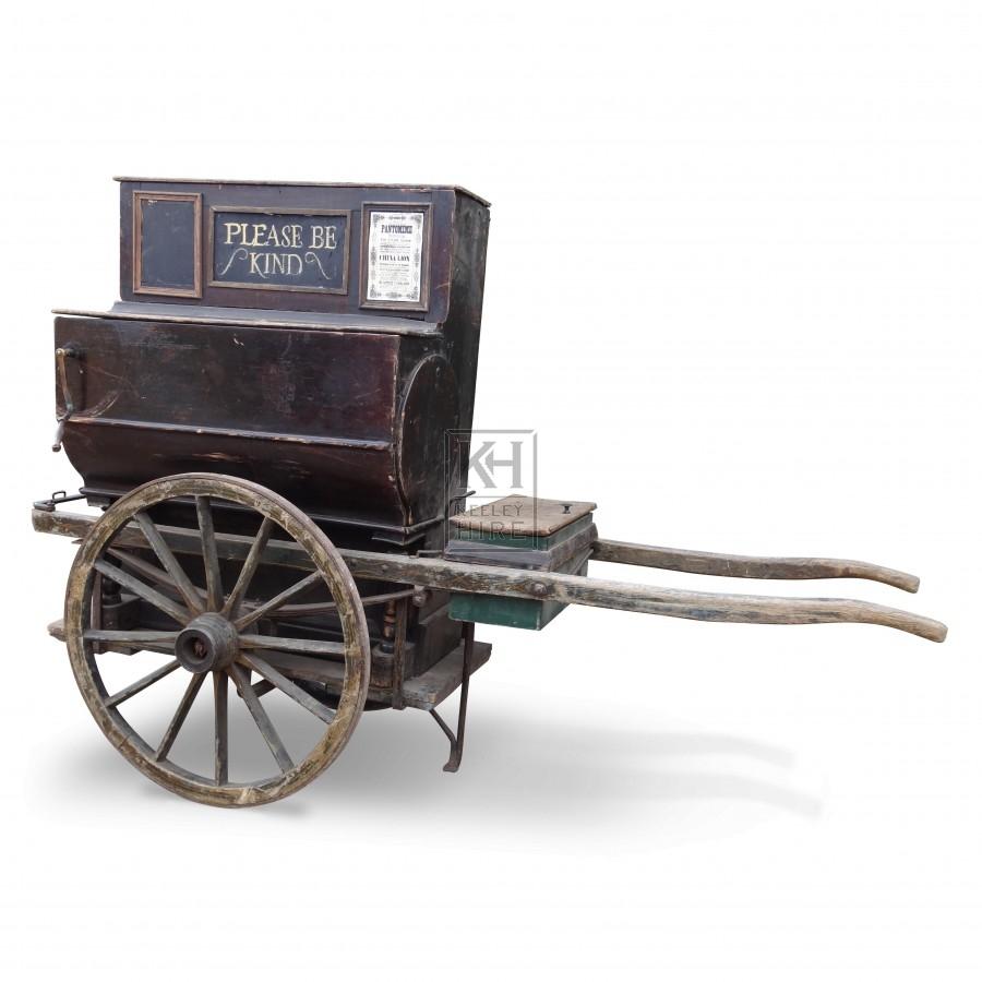Barrel Organ Handcart