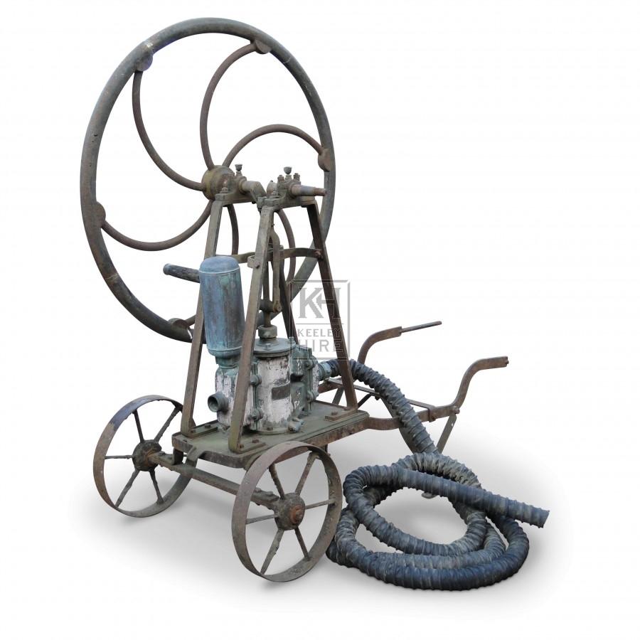 Antique Orchard Pump