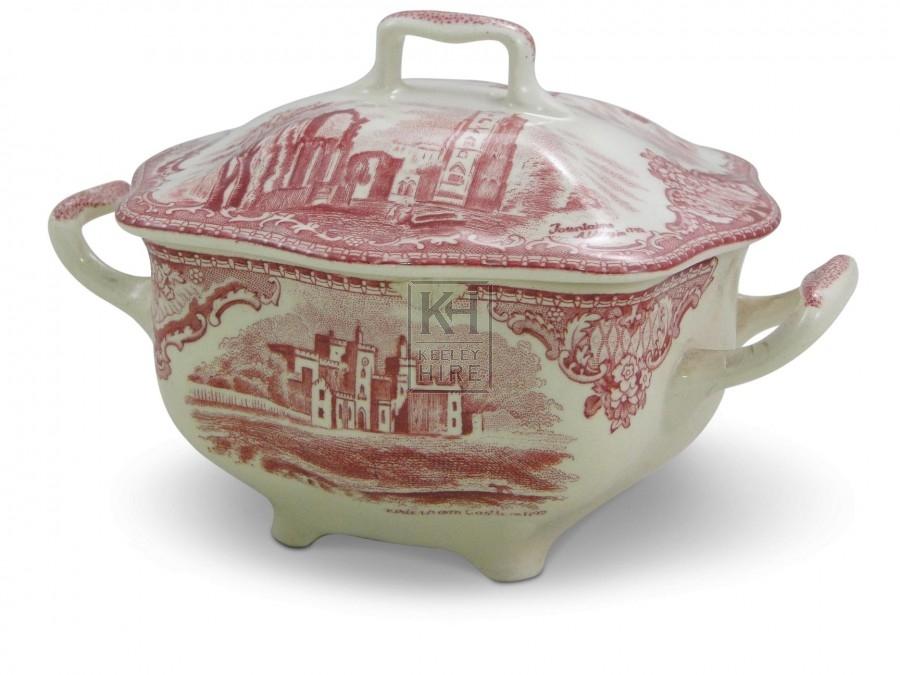 Patterned Sugar Bowl
