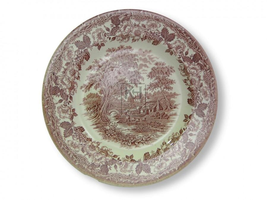 Patterned Dinner Plates