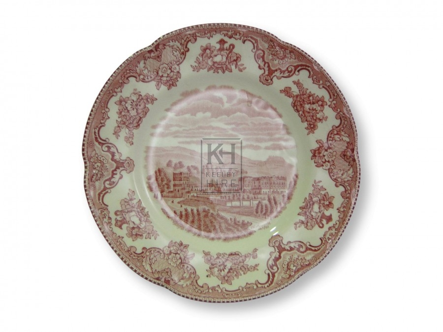 Patterned Side Plates