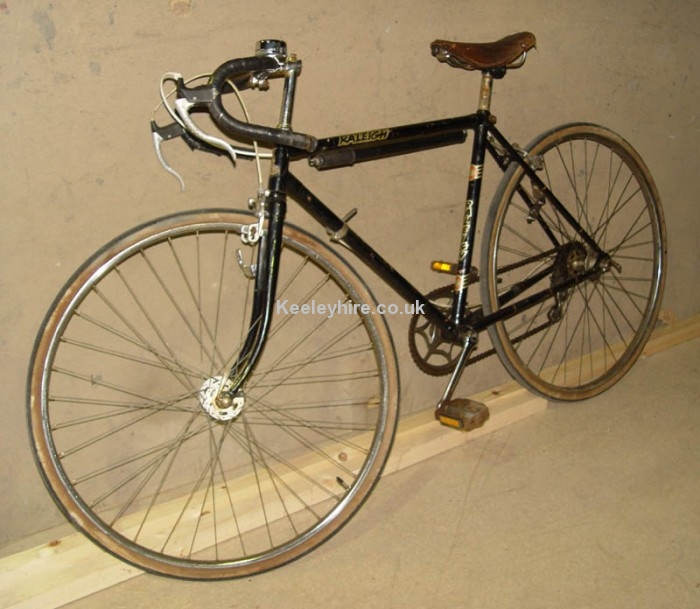 Black Racing bicycle