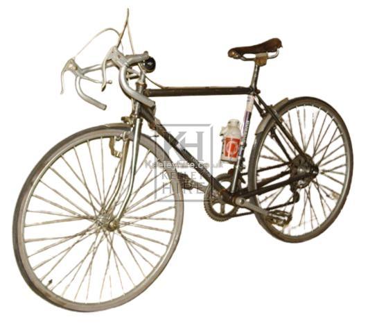 Grey Racing bicycle