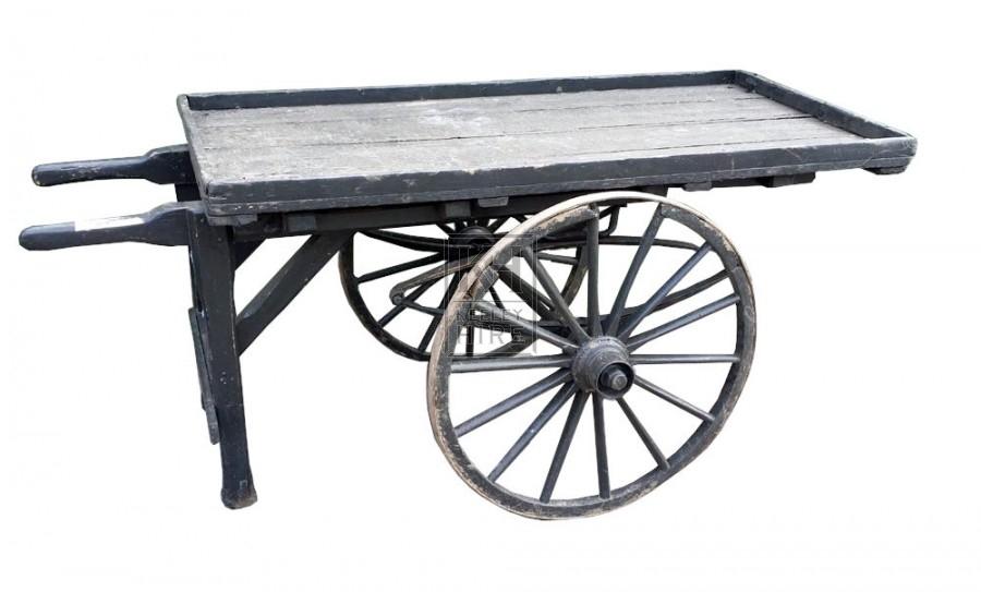 2-wheel flat handcart