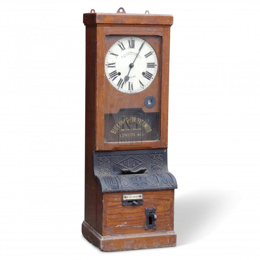 Period clocking in machine
