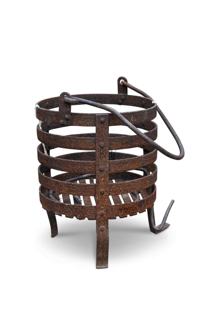 Brazier - Rusty Iron