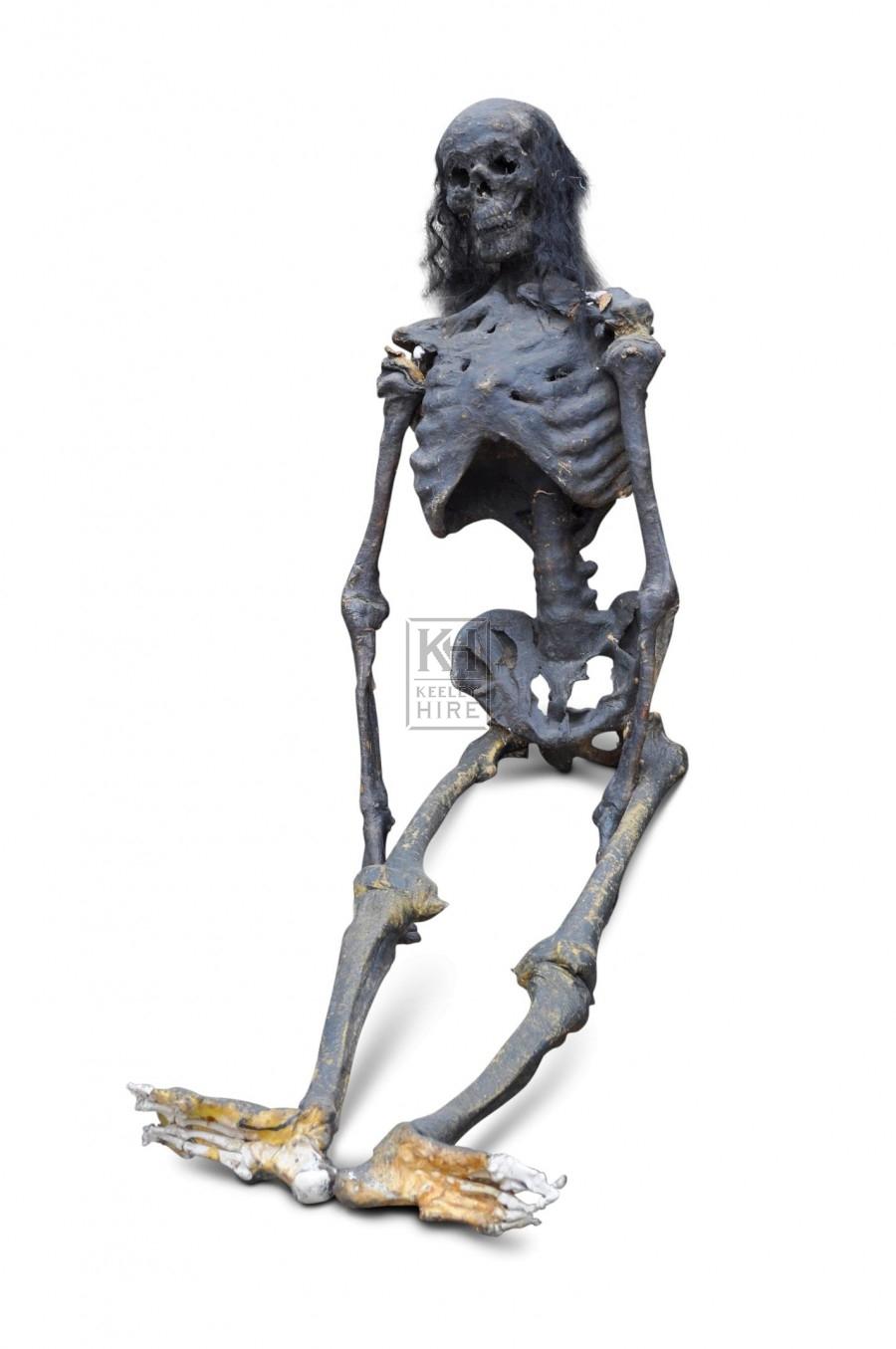 Figure - Skeleton with Hair