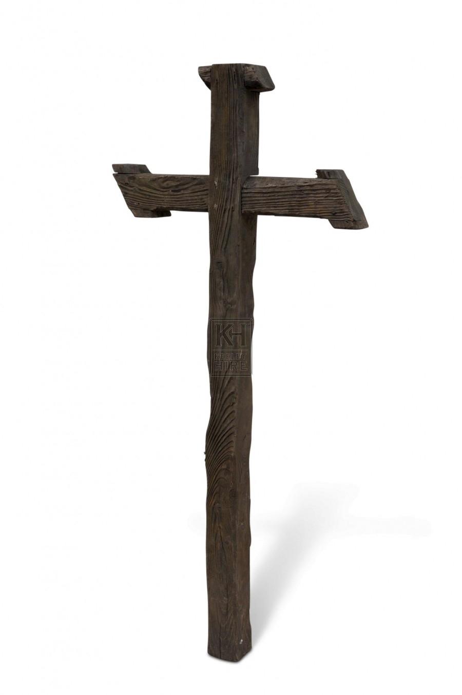 Wooden Cross - Rustic