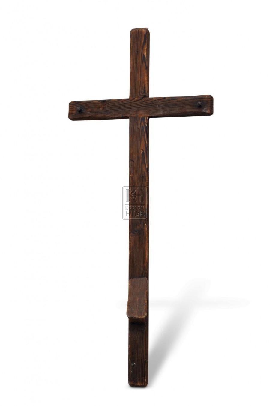 Wooden Cross - Crucifix