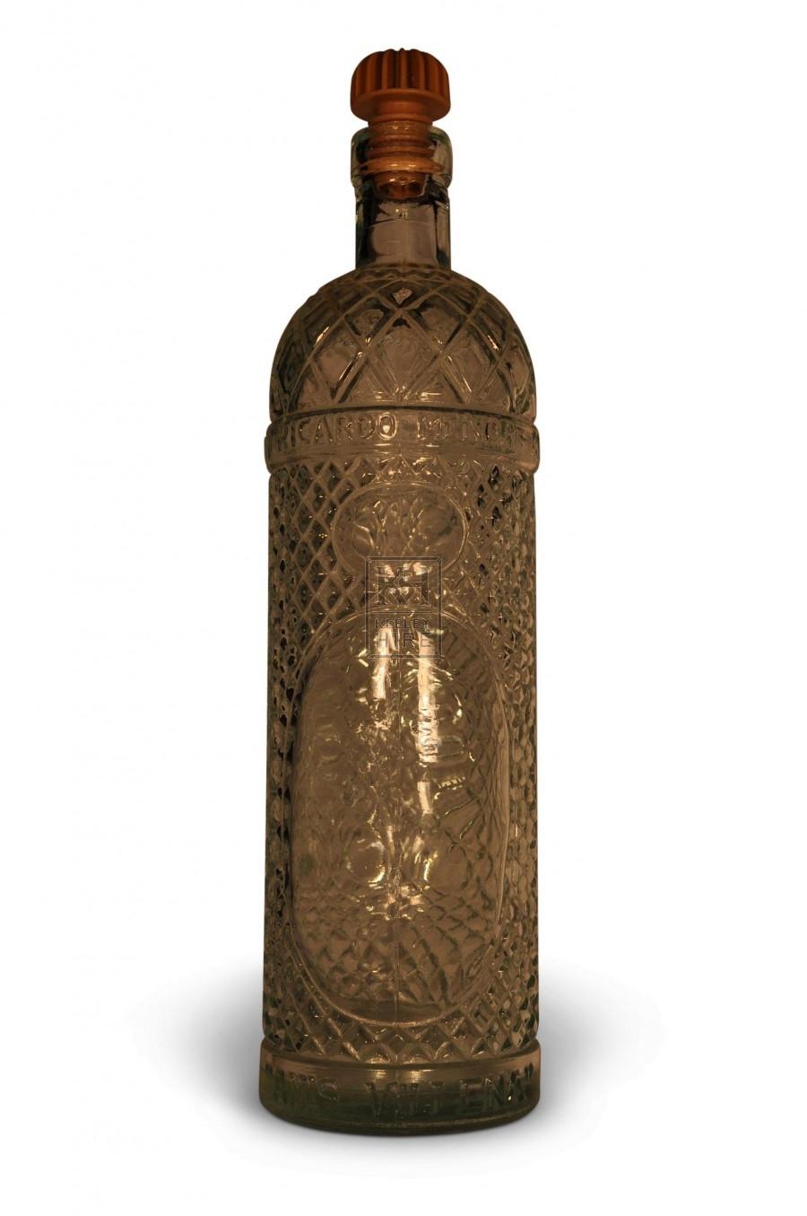 Fancy Round Bottle