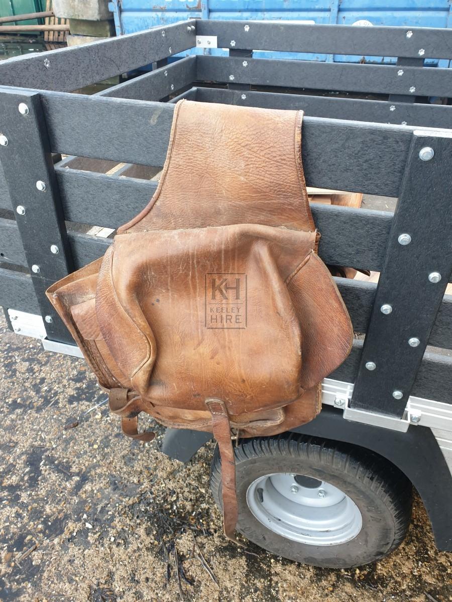 Leather Saddlebag