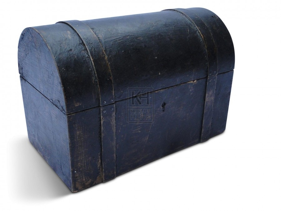 Small Waxed Wooden Chest