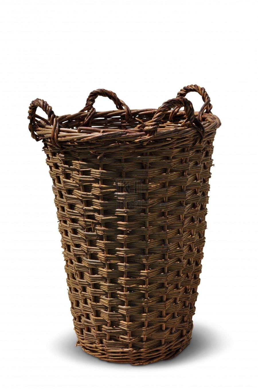 Tall Four Handled Baskets