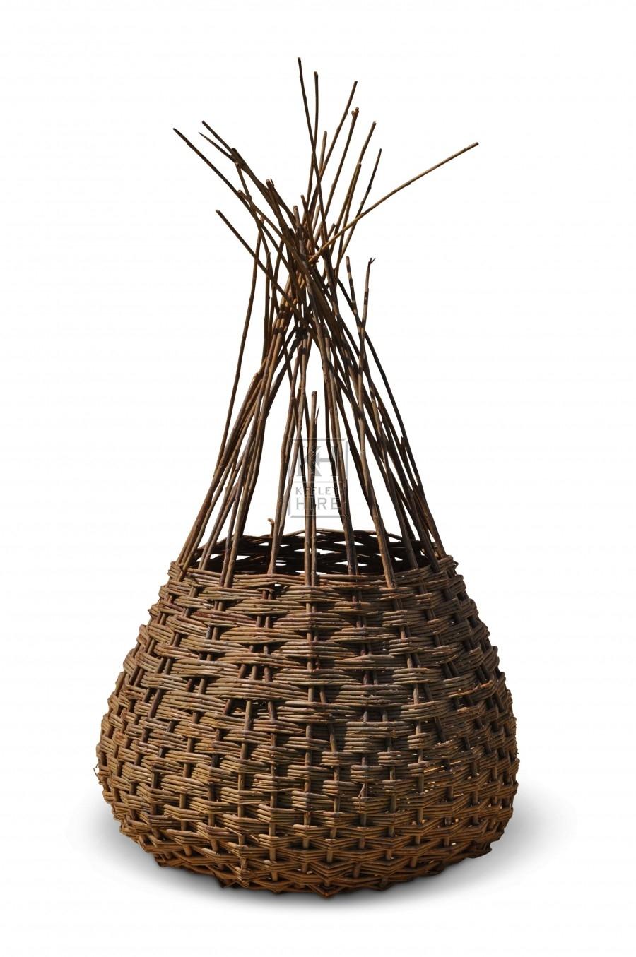 Loose topped basket