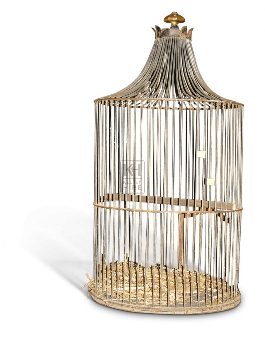 Round Wire Birdcage