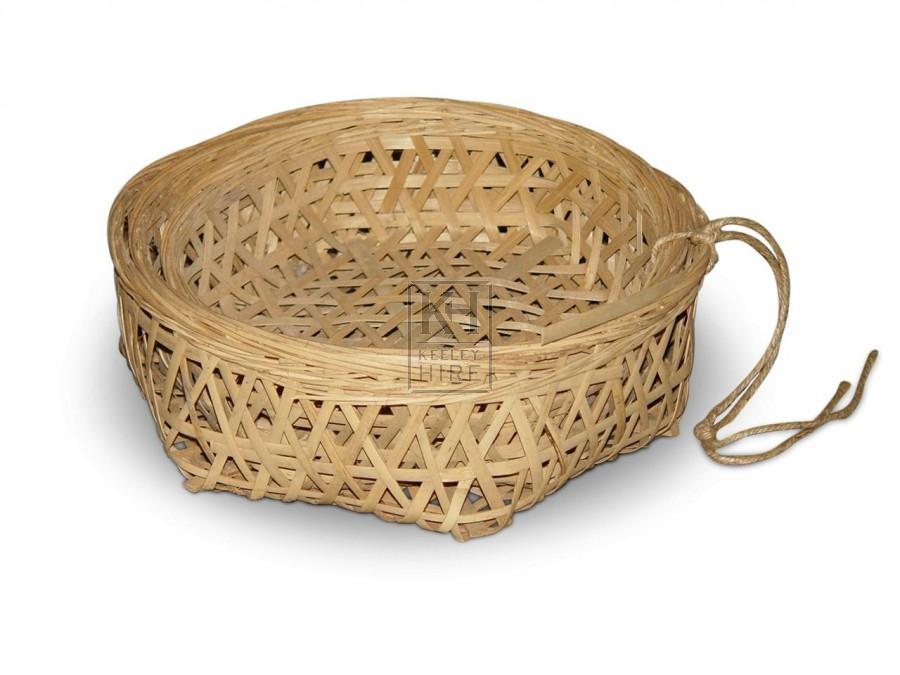 Open Weave Basket