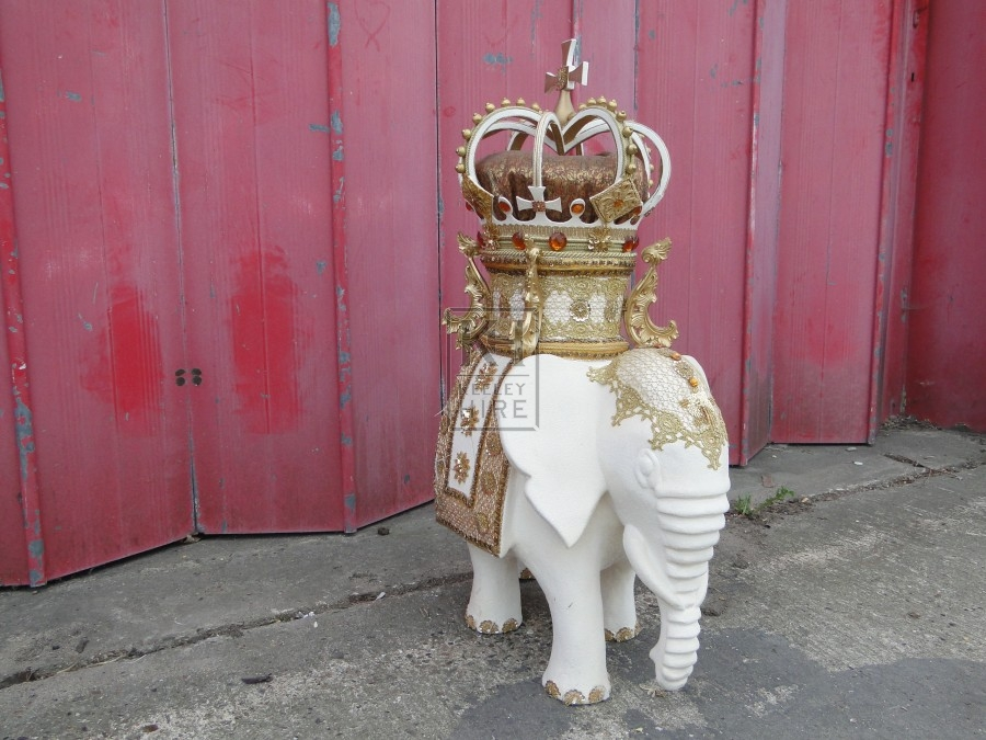 Ornate Elephant Statue